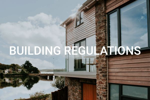 Building Regulations drawings by South Devon Architects Andrew Lethbridge Associates