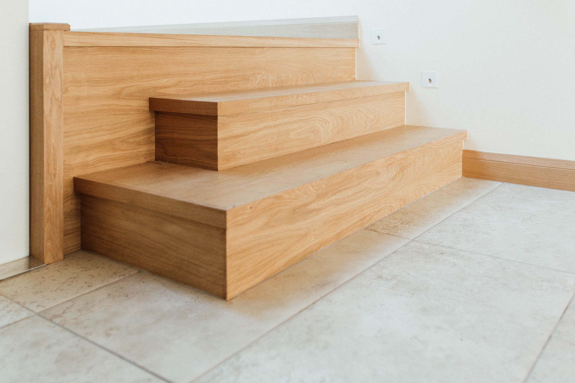 Oak steps by devon architects andew lethbridge associates