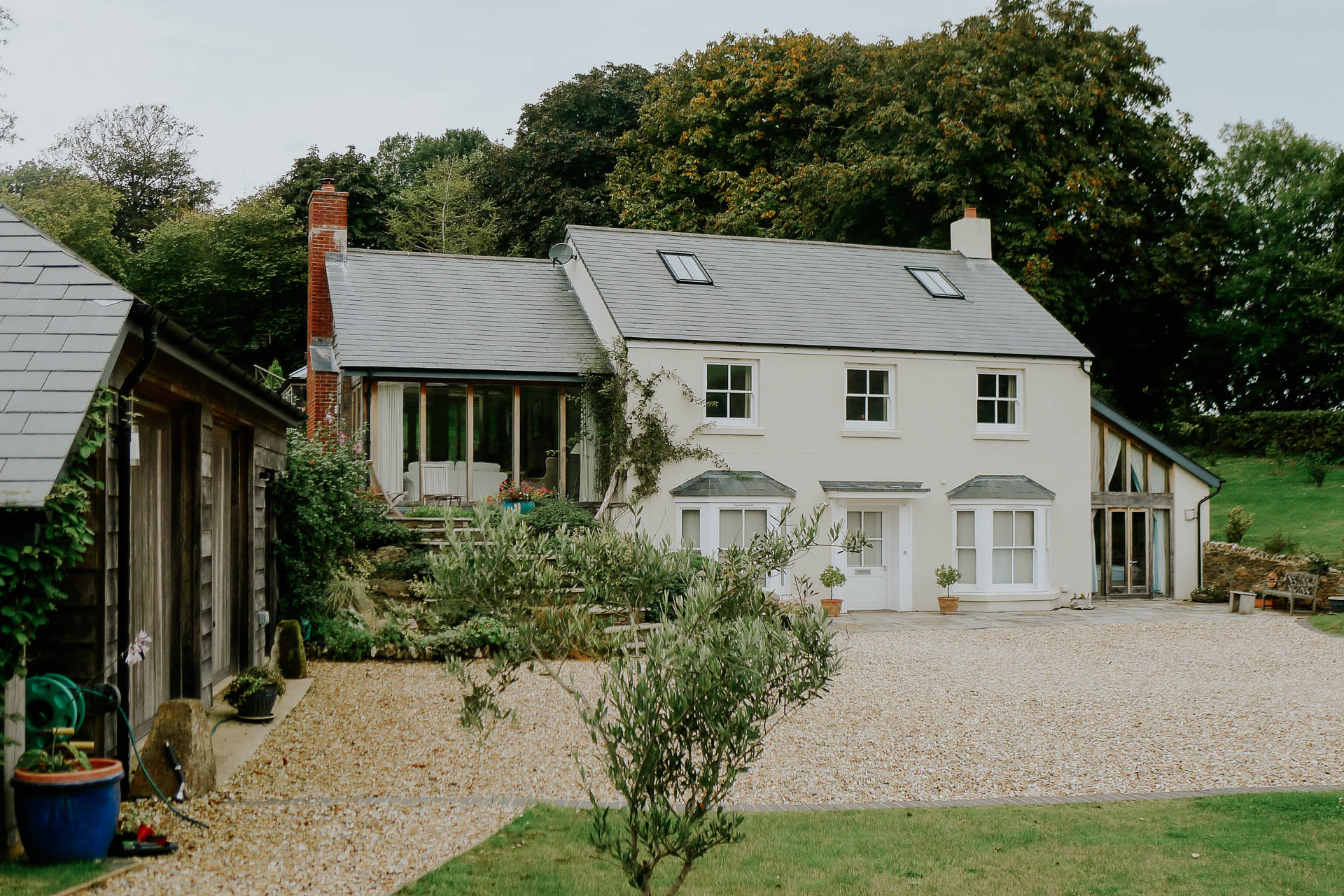 traditional farm house design by south devon architects andrew lethbridge associates