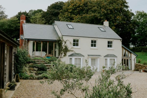 traditional house design with sliding sash windows by award winning devon architects andrew lethbridge associates