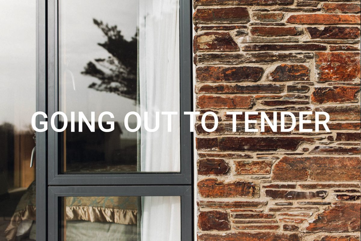 going out to tender andrew lethbridge associates south devon architects